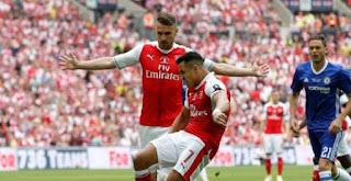 Kalahkan Chelsea 2-1, Arsenal Juara Piala FA 2016-2017 + Video Gol & Highlights