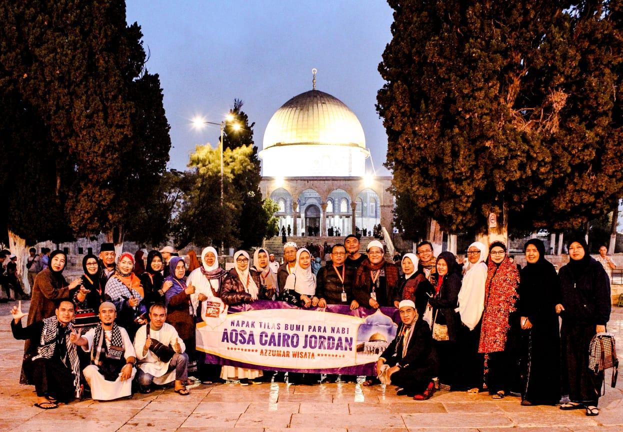Itinerary Program Umroh Plus Aqsa Petra