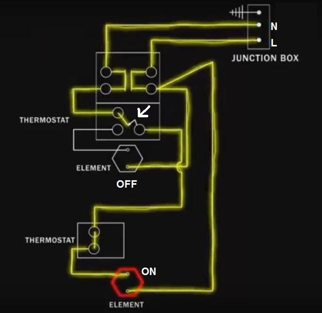 Dual Element Water Heater Wiring Diagram