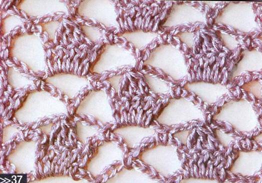 Patrón #1195:Punto Calado a Crochet