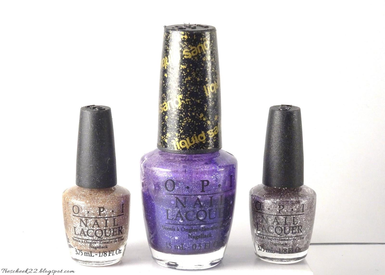 OPI Liquid Sand nail Polish - Mariah Carey Collection