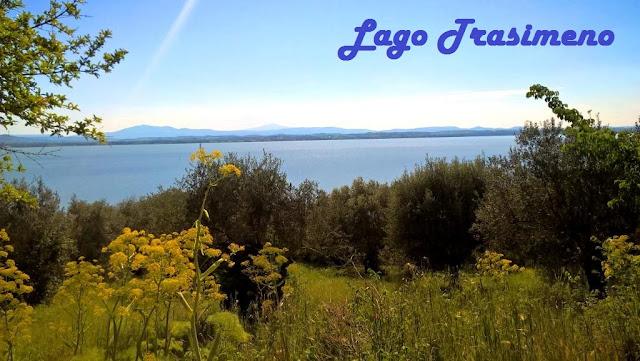 Lago Trasimeno  - Isola Polvese  San Feliciano