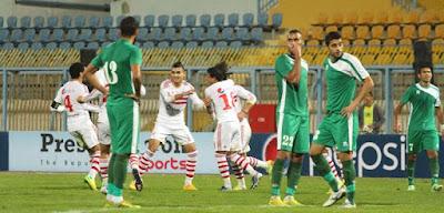 النادي المصرى يهدد بالانسحاب من مباراة الزمالك بسبب الجماهير