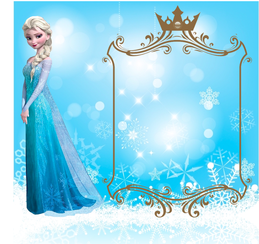 La Super Mamy Invitaciones Frozen