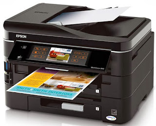 scanning in addition to faxing piece providing high character prints your trouble organization deserves Download Driver Epson WorkForce 845