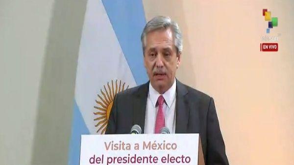 Alberto Fernández: Argentina y México profundizarán lazos políticos y comerciales