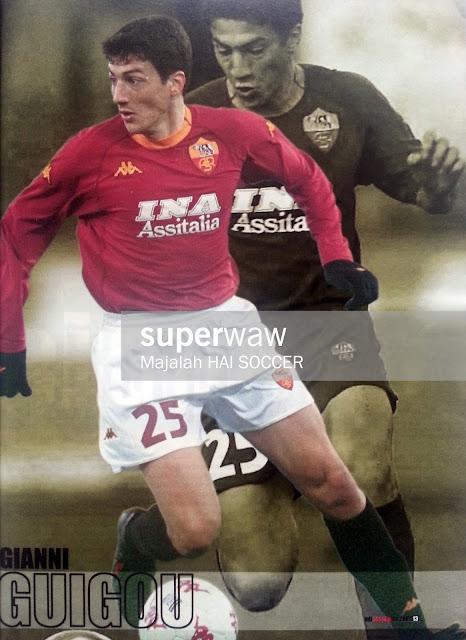 Pin up Gianni Guigou (AS Roma 2000)