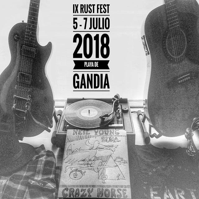 IX Rust Fest en la playa de Gandía: por Neil Young 1