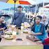 Objek Wisata Siring Laut Kotabaru Padat Pengunjung