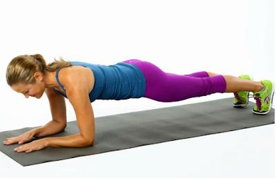 Latihan Plank Untuk Mengecilkan Perut Buncit