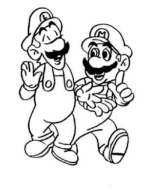 Desenhos Para Colorir E Imprimir Desenhos Do Super Mario