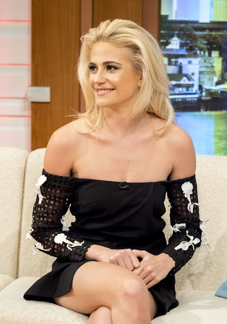 Pixie Lott Appears on 'Good Morning Britain'