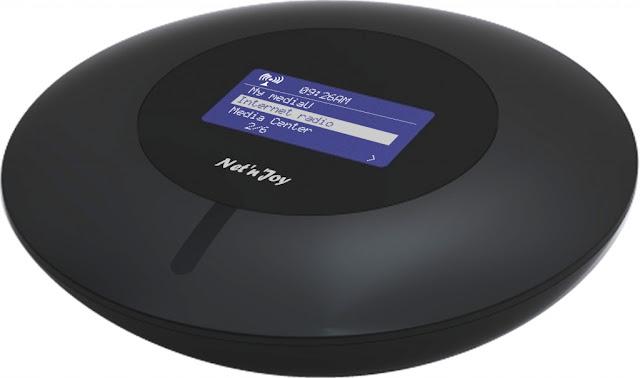 Интернет радиоприемник Net n Joy NJ-110 UFO для подключения к интернету и воспроизведения радиостанций создан для того, чтобы вдохнуть новую жизнь в вашу старую аудиосистему
