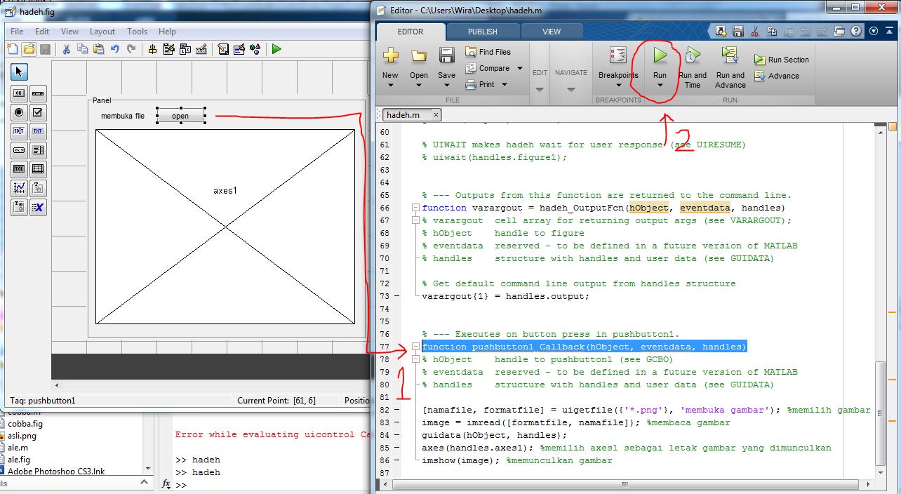 code open file
