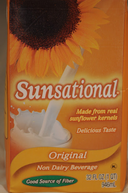 Sheena Cucina Sunsational Sunflower Seed Milk