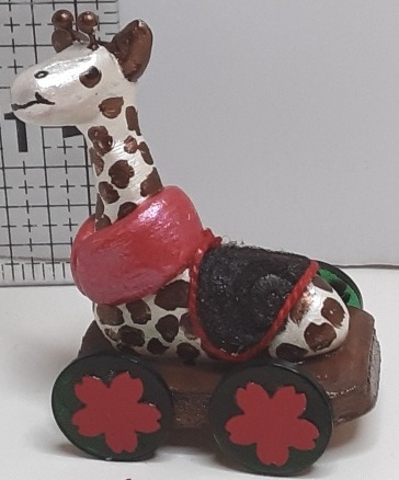 DBK Original Design  -Riding Giraffee