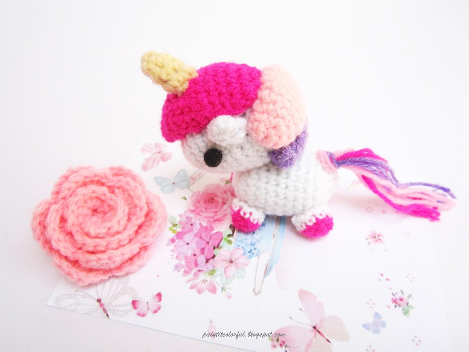 Amigurumi Unicorn Free Pattern A Little Love Everyday