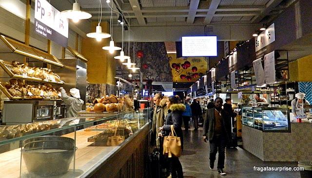 Confeitaria no Mercado Central de Termini, Roma