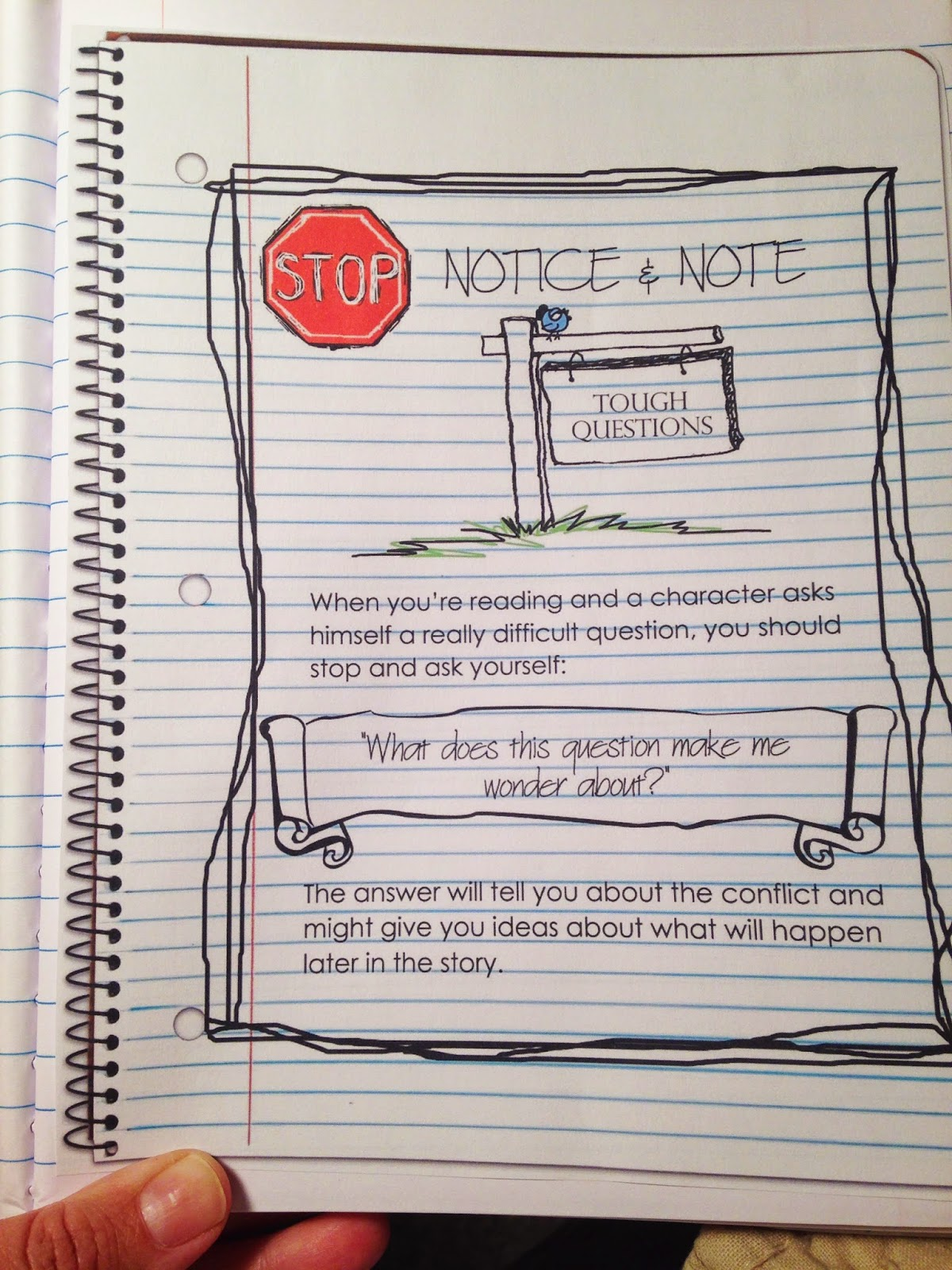 Musings from the Middle School: Notice and Note (Part Two)