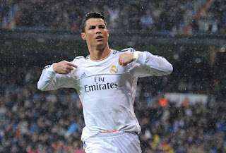 C Ronaldo is the highest paid player
