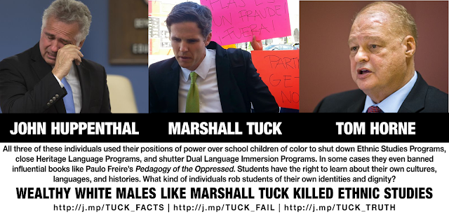 Don't let Marshall Tuck rob California students of their own identities and dignity!