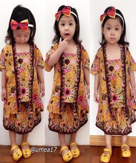 baju batik anak modern