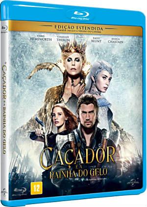Capa do Filme O Caçador e a Rainha do Gelo
