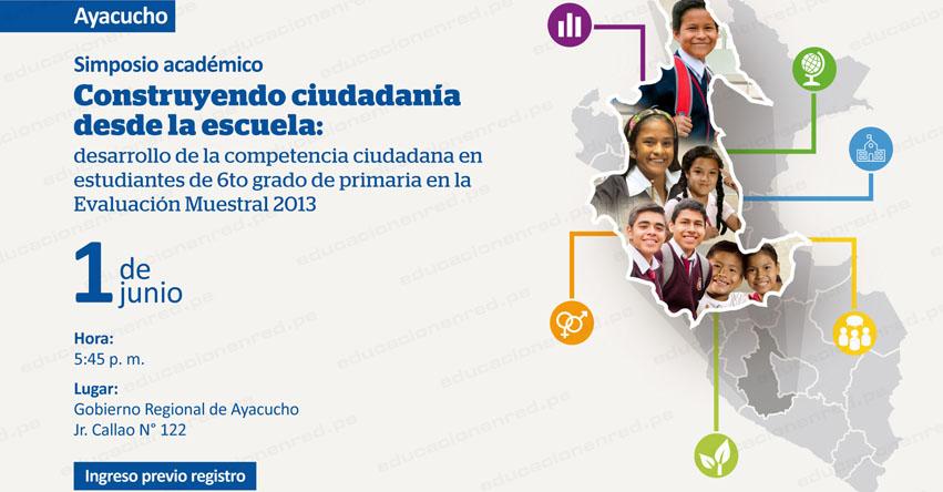 Ayacucho: ¿Cómo se encuentra el desarrollo de la competencia ciudadana en la escuela? MINEDU - www.minedu.gob.pe