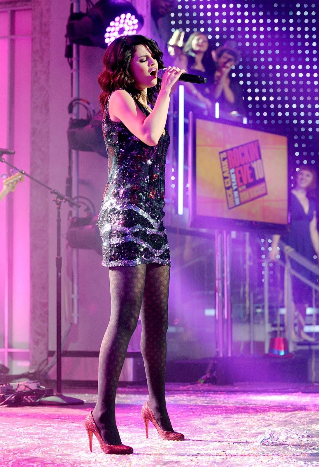 Selena Gomez Pantyhose 55