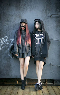 model baju korea kelima