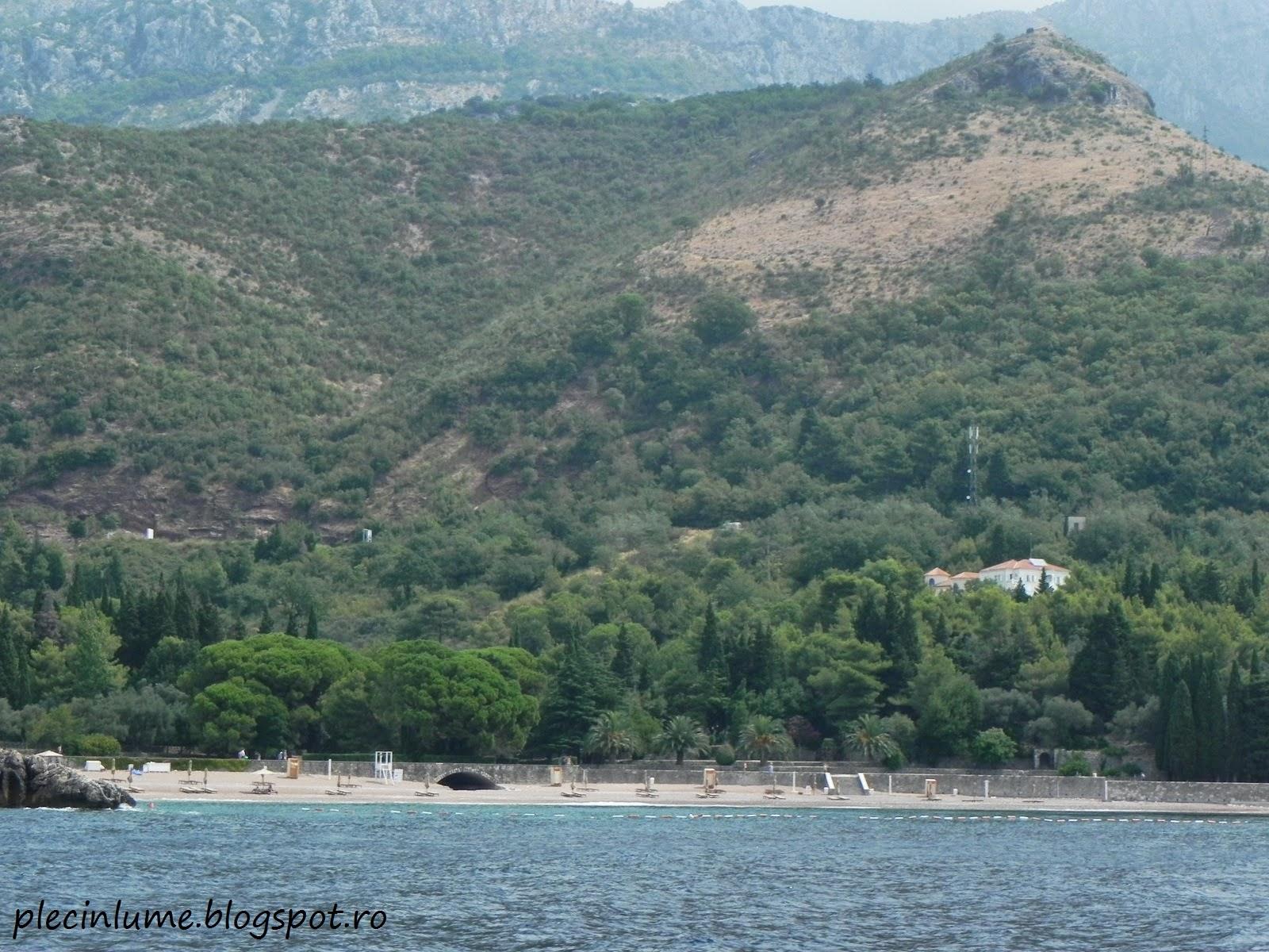 Plaja Regelui (Milocer), Muntenegru