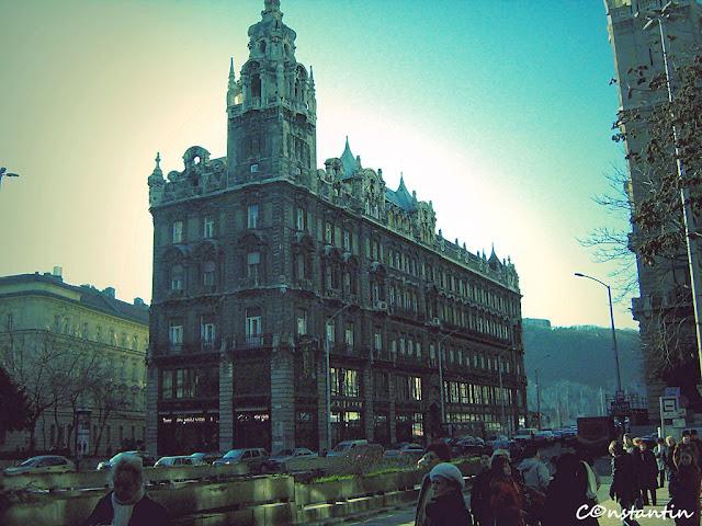 Centrul orasului Budapesta