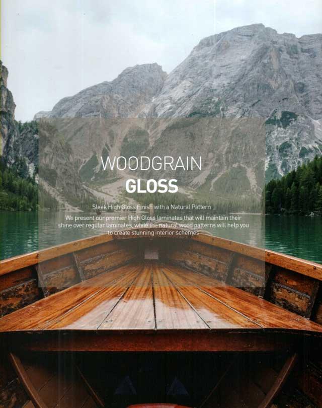Hpl taco motif kayu gloss 20