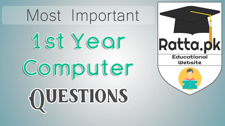 1st Year Computer Science Important Questions 2017