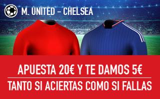 sportium promocion Manchester United vs Chelsea 16 abril