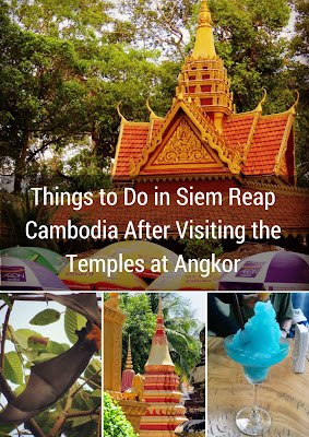 Sidewalk Safari Blog Post: Things to Do in Siem Reap Cambodia After Visiting the Temples at Angkor