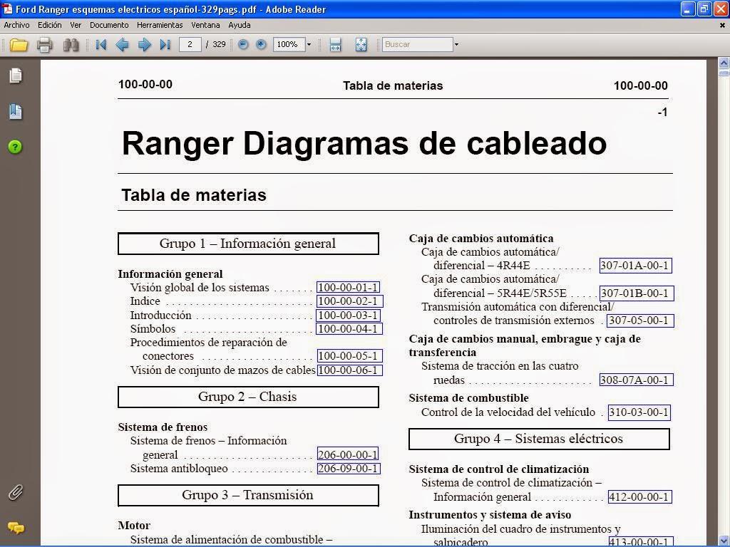 1995 Ford Aspire Fuse Diagram Manuales De Taller Reparacion Servicio De Autos Diagramas