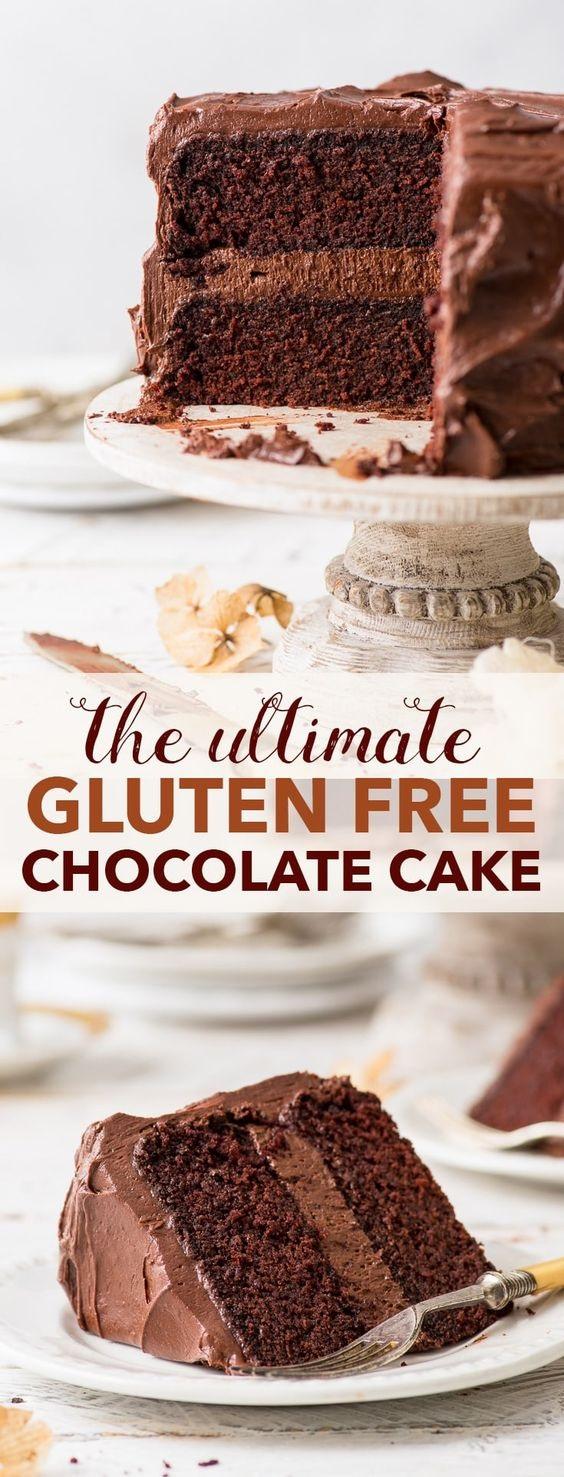 The Ultimate Gluten Free Chocolate Cake