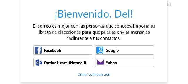 Inicio de sesión de correo Yahoo!