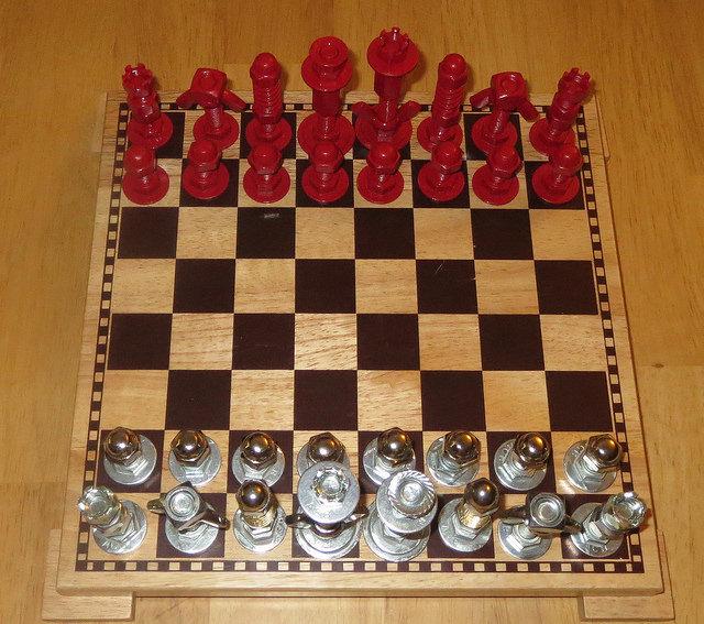 evde satranç yapımı