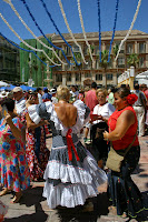 Bike Spain and visit Malaga during Feria in August