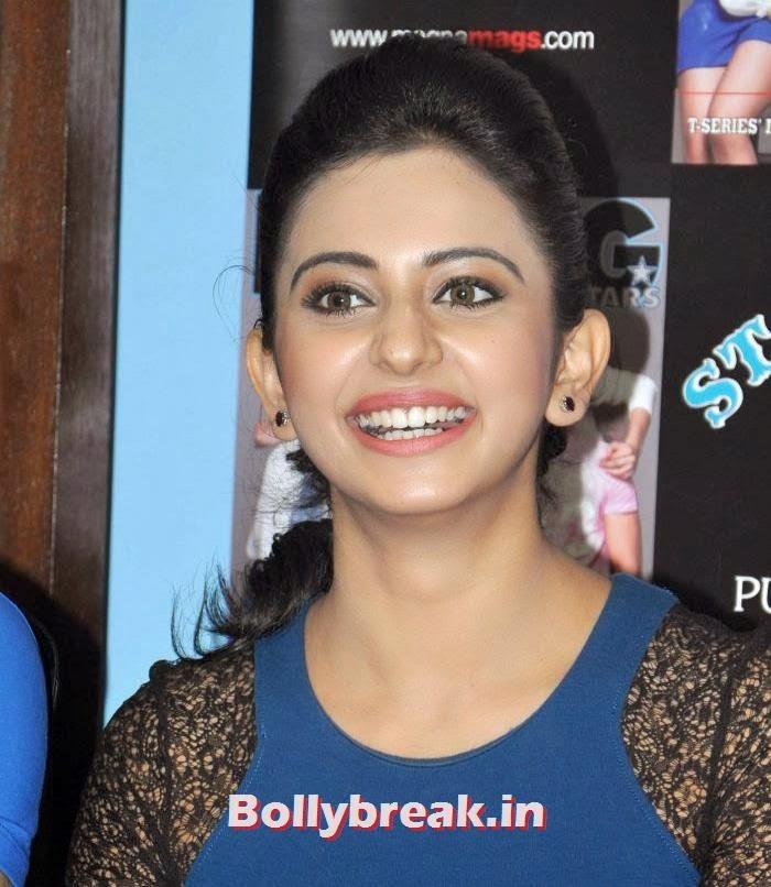 Rakul Preet Singh,  Divya Khosla & Rakul Preet at Yaariyan Movie Promotion Event