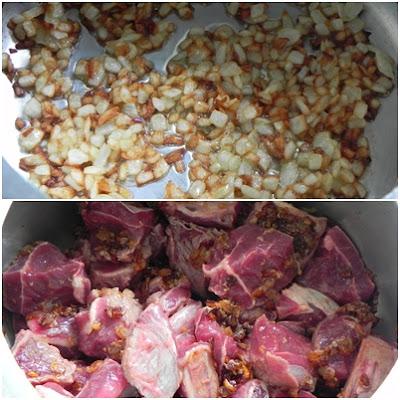 como fazer carne na panela de pressão