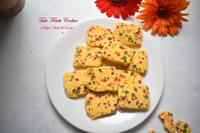 easy tutti frutti cookies recipe