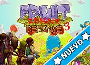 Fruit Zombie Defense 3 juego