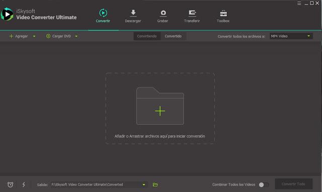 iSkysoft Video Converter Ultimate Full imagenes
