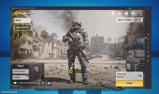 تشغيل لعبة call of Duty Mobile علي محاكي game loop وحل المشاكل الخاصة به