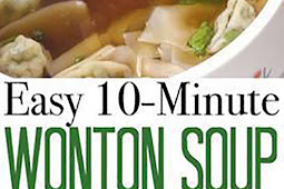 Easy 10-Minute Wonton Soup