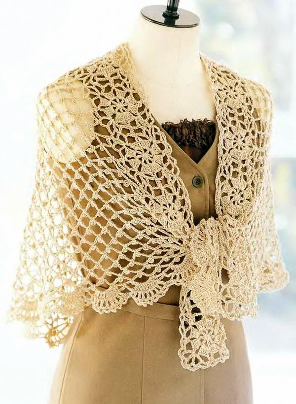 #crochey #lace #shawl #pattern