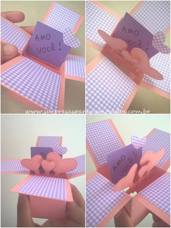 cartão pop up